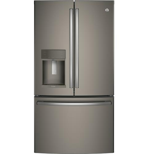 GE Profile GE Profile™ Series ENERGY STAR® 22.2 Cu. Ft. Counter-Depth French-Door Refrigerator