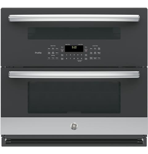 "GE Profile GE Profile™ Series 30"" Built-In Twin Flex Convection Wall Oven"