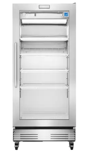Model: FCGM181RQB | Frigidaire 18.4 Cu. Ft., Glass Door Merchandiser