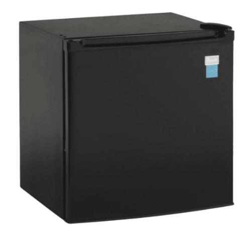 Avanti 1.7 CF Refrigerator - Black