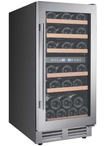 Avanti 28 Bottle Designer Series Dual Zone Wine Chiller w/Seamless Door