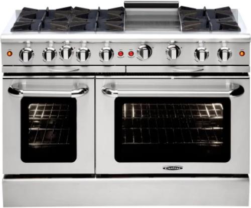 "Capital Cooking Culinarian 48"" Gas Manual Clean Range"