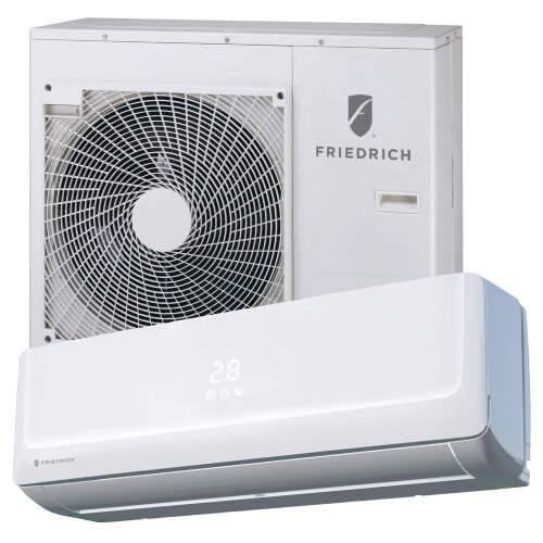 Friedrich 12,000 Btu Wall Mounted Heat Pump Split System