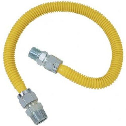 ADC 3 Foot Gas Flex line 1/2mip x 3/4 mip - 25 Pack