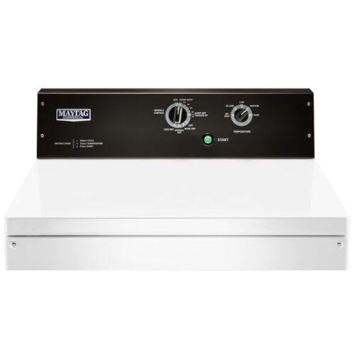 Model: MGDP575GW | Maytag 7.4 cu. ft. Commercial-Grade Residential Gas Dryer