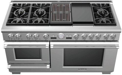 60 INCH PROFESSIONAL SERIES PRO GRAND COMMERCIAL DEPTH DUAL FUEL STEAM RANGE