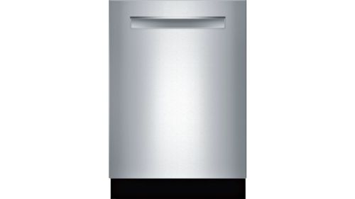 "Model: SHPM78W55N | Bosch 800 Series24"" Pocket Handle Dishwasher"
