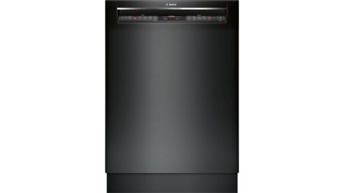 "Bosch 800 Series24"" Recessed Handle DishwasherSHEM78W56NBlack"