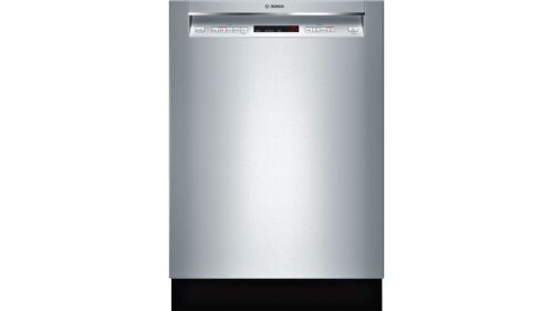 "Model: SHEM63W55N | Bosch 300 Series24"" Recessed Handle DishwasherSHEM63W55NStainless steel"