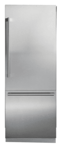 Blomberg 30 Inch Fully Integrated Built-In Bottom-Freezer Refrigerator