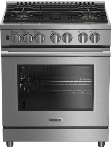 Blomberg 30 Inch Pro-Style Dual Fuel Range
