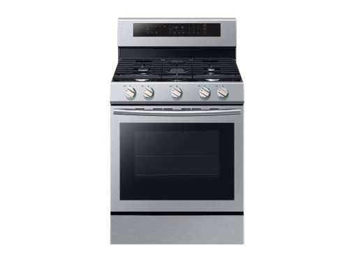 Samsung 5.8 cu. ft. Freestanding Gas Range with True Convection in Stainless Steel
