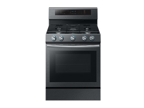 Model: NX58M6630SG | Samsung 5.8 cu. ft. Freestanding Gas Range with True Convection in Black Stainless Steel