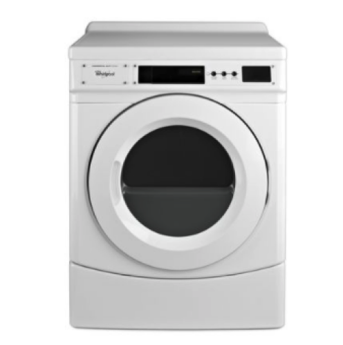 """Whirlpool 27"""" Commercial Gas Front-Load Dryer, Non-Vend"""