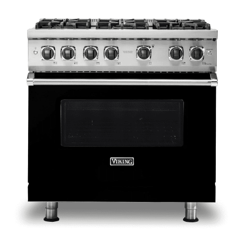 "Viking PRO FREESTANDING INDUCTION 30""W RANGE- 4B- BK"