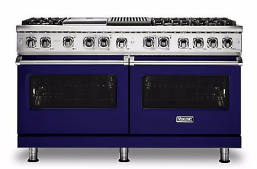 "Viking PRO FREESTANDING DUAL FUEL 60""W W/GRIDDLE & GRILL RANGE- CB"