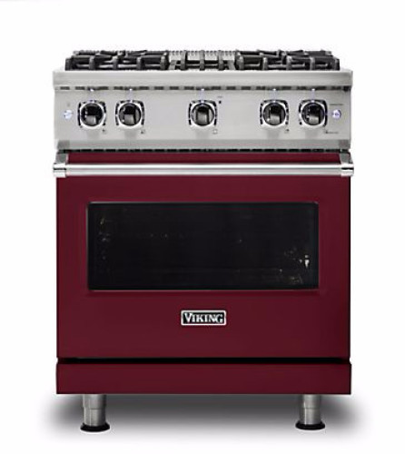 "Viking PRO VGR GAS 30""W SEALED BURNER RANGE- BU"