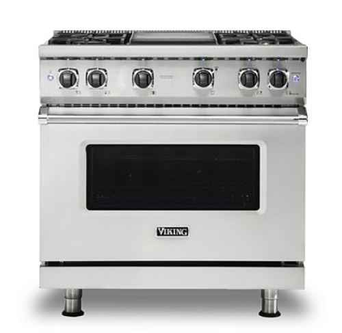 "Viking PRO VGR GAS 36""W SEALED BURNER RANGE- SS"