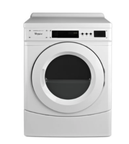 """Whirlpool 27"""" Commercial Electric Front-Load Dryer, Non-Vend"""