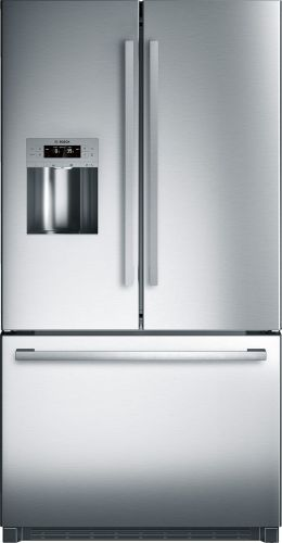 Model: B26FT50SNS | Bosch 800 Series Freestanding fridge-freezers with freezer at bottom