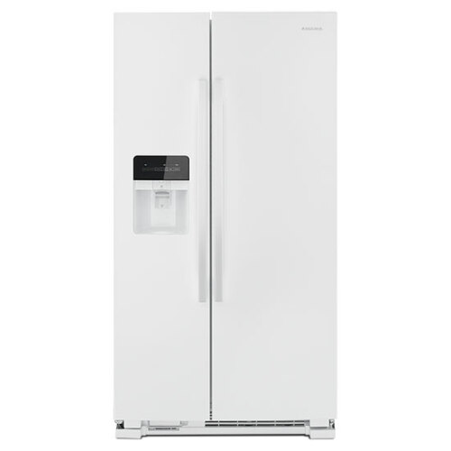 Amana 33-inch Side-by-Side Refrigerator with Dual Pad External Ice and Water Dispenser