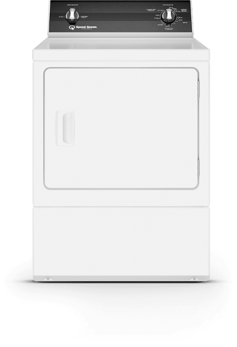 Electric Dryer-White