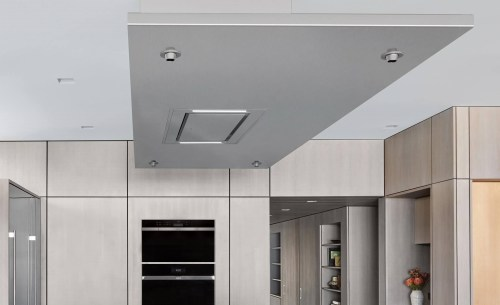 """Model: VC36S   Wolf 36"""" Ceiling-Mounted Hood - Stainless Steel"""