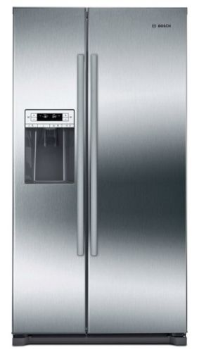 "Model: B20CS30SNS | Bosch  36"" Counter-Depth Side-by-Side Refrigerator"