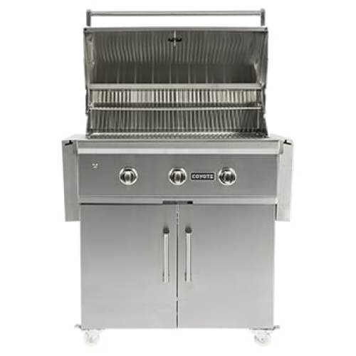 Model: C1S36CT | Coyote 36 Inch Cart for Coyote Grills