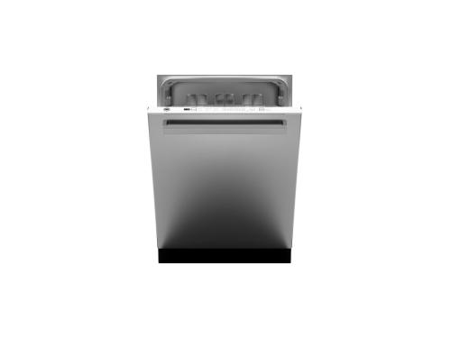"Model: DW24XV | Bertazzoni 24"" Dishwasher stainless steel panel"