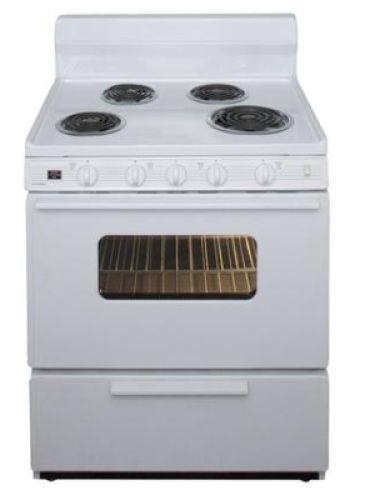 "Premier 30"" Electric Range- White"