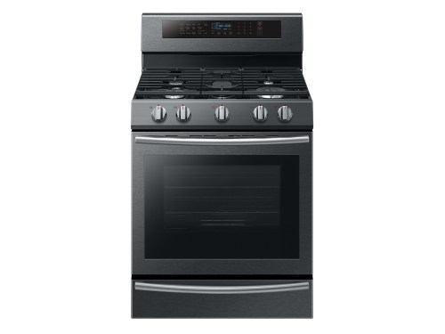 Samsung 5.8 cu. ft. Freestanding Gas Range with True Convection and Steam Reheat