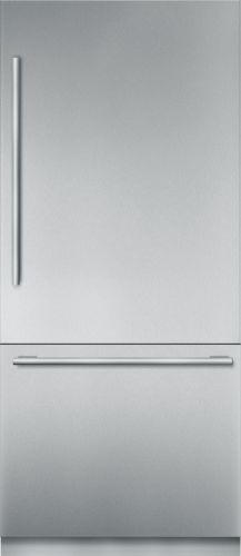 "Thermador 36"" Stainless Steel Built in 2 Door Bottom Freezer, Pre-Assembled, Masterpiece® Handle T36BB910SS"