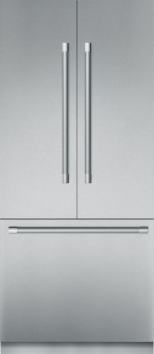 Thermador 36 - INCH PRE-ASSEMBLED BUILT-IN BOTTOM-FREEZER WITH PROFESSIONAL HANDLES