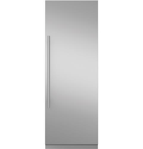 "Monogram 30"" Fully Integrated Refrigerator- Euro Stainless Steel Door Panel Kit"
