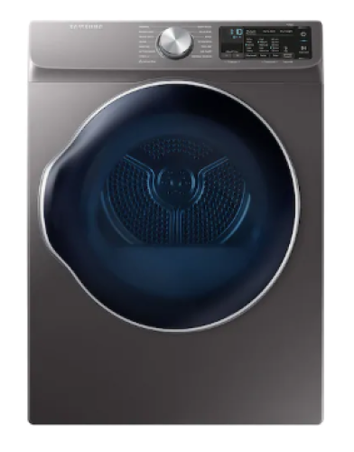 "Model: DVE22N6850X | Samsung 4.0 cu. ft. 24"" Electric Dryer with Smart Care"