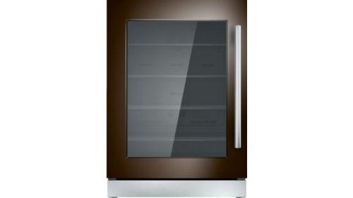 Thermador 24-Inch Under-Counter Glass Door Refrigerator - Left  HInge