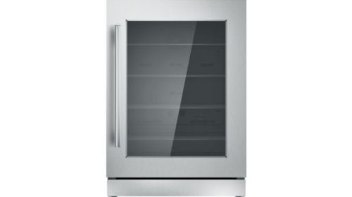 Thermador 24-Inch Under-Counter Glass Door Refrigerator - Right  HInge