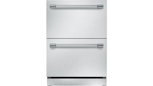 Thermador 24-Inch Under-Counter Double Drawer Refrigerator