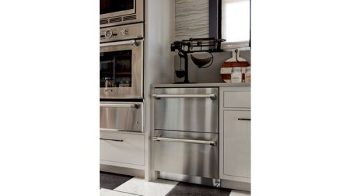 Model: T24UR920DS | Thermador 24-Inch Under-Counter Double Drawer Refrigerator