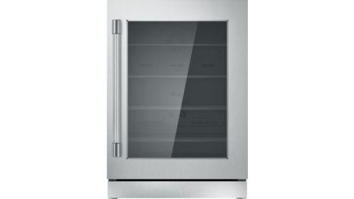 Thermador 24-Inch Under-Counter Glass Door Refrigerator