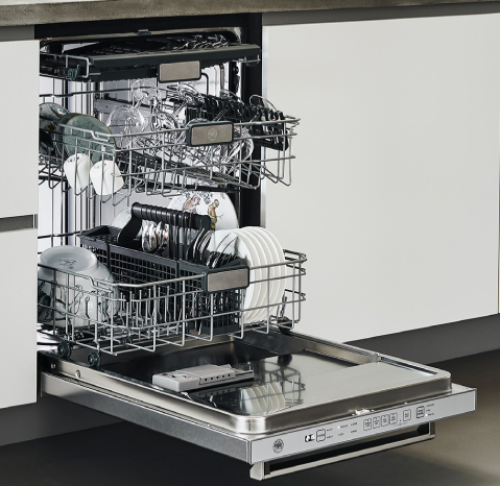 "Model: DW24PR | Bertazzoni 24"" Dishwasher panel ready"