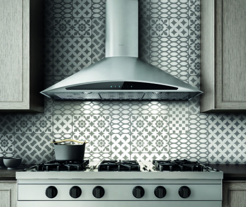 "Elica Foglia 30"" Wide Wall Mounted Hood"