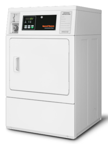 Model: SDENCAGS173TW01 | Speed Queen Commercial Front Control Electric Dryer - 240 Volt