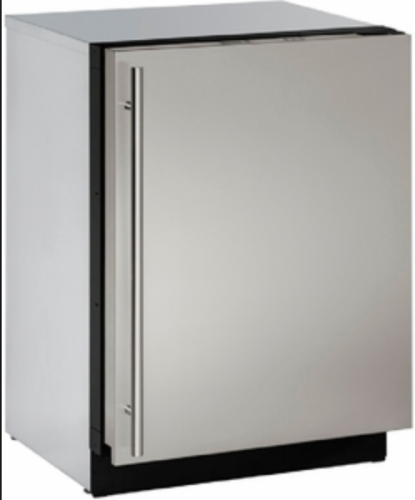 "U-Line U-Line 24"" Wine Captain with Independently Controlled Dual Zones - Reversible Hinge - Integrated Solid Custom Panel"