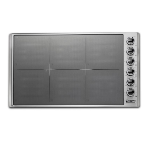 "Viking 36""W INDUCTION COOKTOP 6 BURNERS- SB"