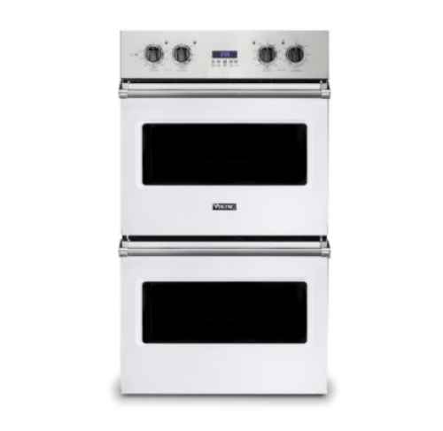 "Viking 30""W ELECTRIC DOUBLE THERMAL CONVECTION OVEN- WH"