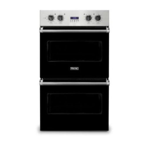 """Viking 30""""W ELECTRIC DOUBLE THERMAL CONVECTION OVEN- BK"""