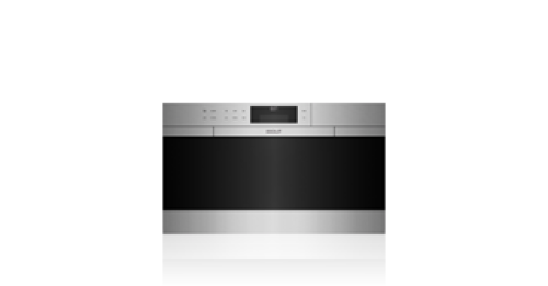 "Wolf 30"" M Series Contemporary Stainless Steel Convection Steam Oven with Retractable Handle"