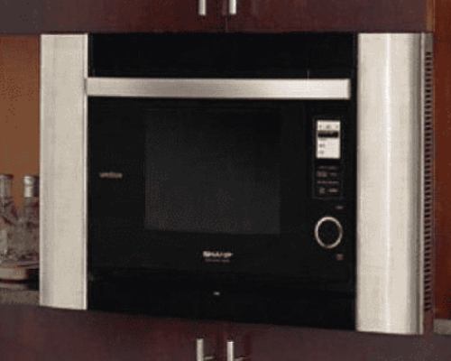Sharp Appliances Stainless Steel Built-in Trim Kit for SuperSteam Oven AX-1200S